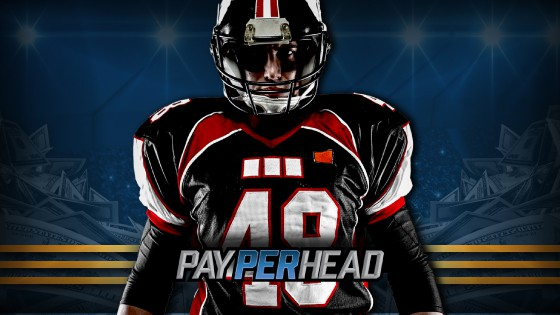 Pay Per Head Football Player Concept