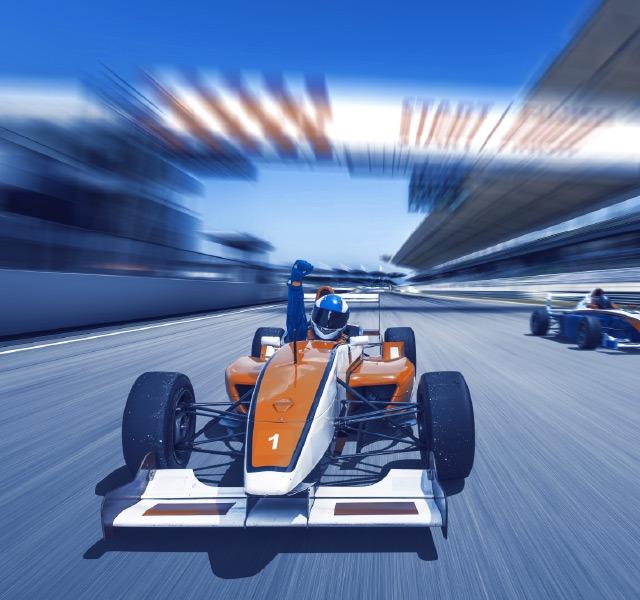 Race Car Motorsports Concept