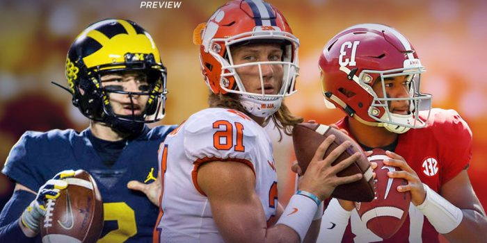 2019 College Football Preview concept