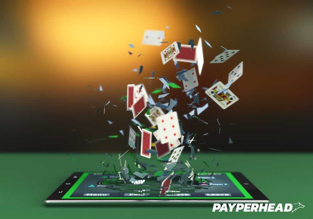 Online casino gaming concept