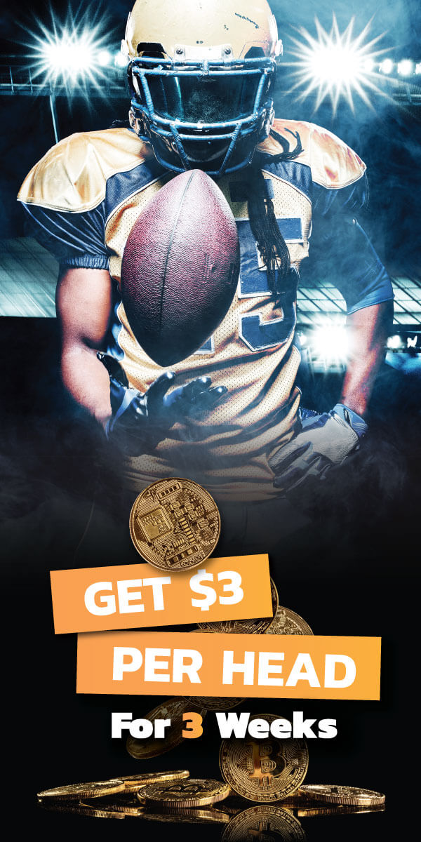 Football Player pay per head promotion