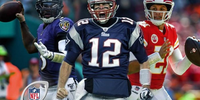 NFL Playoffs football players