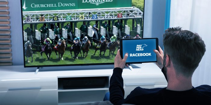 Per Head agent looking at online racebook for Santa Anita and Churchill Downs horse racing